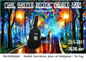 Uitnodiging Final Master Recital 2015
